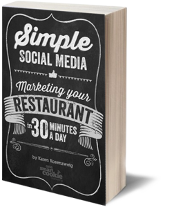 Simple Social Media: Marketing Your Restaurant in 30 Minutes a Day Book