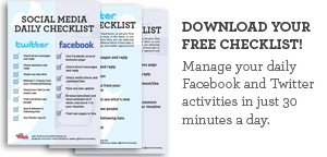 Download My Social Media Checklist