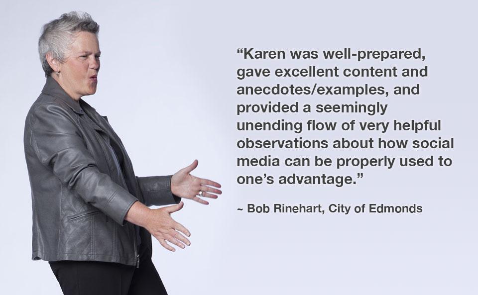 Speaker Karen Rosenzweig