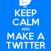 twitter keep calm make a list
