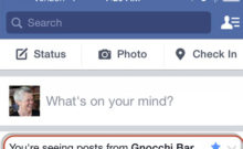 Facebook News Feed – Have it Your Way!